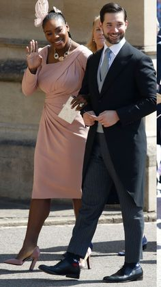 8f8c1deae8 The guests of the Royal Wedding. Serena Williams and Alexis Ohanian.  (Serena Williams