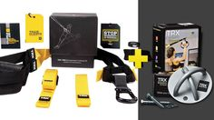 The TRX Pro Kit is the best tool for professional trainers, designed with durability and safety so your clients get results anywhere.  In this bundle TRX Pro Kit is available with TRX X-Mount which makes a perfect combination for you full workout set.