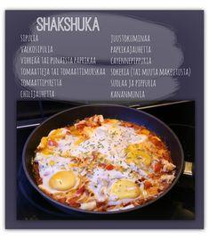Shakshuka ohje