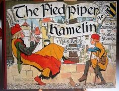 """The Pied Piper of Hamelin"" by Robert Browning illustrated by T. Butler-Stoney"