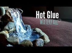 Come creare effetto acqua con colla a caldo
