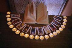 Love: books, Tarot, candles