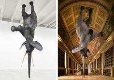 Daniel Firman's Balancing Elephant