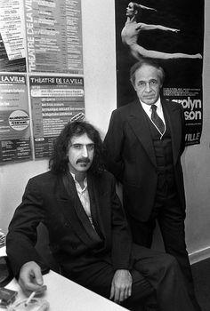 Frank Zappa, Pierre Boulez