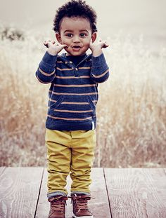 How cute is this toddler boy outfit from H& M?