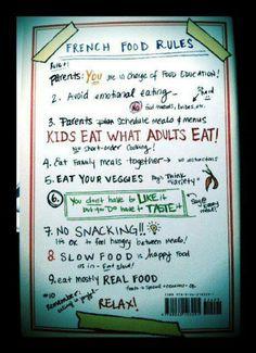 Good dinner rules