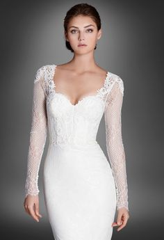 Lazaro Bridal Fall 2015