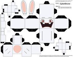 Raving Rabbid Cubeecraft