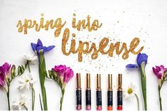 Spring into LipSense