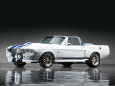 1968 Ford Mustang Shelby Convertible Chassis no. Ford Mustang Shelby Gt500, Mustang Cobra, Ford Shelby, Mustang Convertible, Sexy Cars, Hot Cars, Classic Mustang, Drag Cars, Car Ford