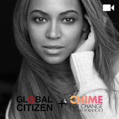 CHIME FOR CHANGE <br /> As Global Citizens
