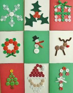 Kids Party Hub: Easy Handmade Christmas Card Ideas