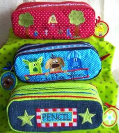 Der Stickbaer | Ebook Pencilcases German | Embroidery from heart