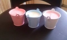 """Musk Stick"" Buckets.$5 each"