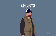 Supernatural - Bobby Singer - Idjits