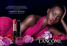 L'Absolu Rouge featuring Lupita Nyong'o