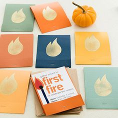Celebrate bonfire season with these fun invites and more: http://www.bhg.com/party/fall-harvest-party/?socsrc=bhgpin090714cheeryinvites&page=2