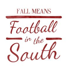 Football in the South!