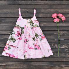 30cb1c3bcabf Pink Flamingo Dress. Perfect for Summer! www.makaigirls.com Flamingo Outfit,