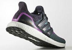 san francisco 3bf67 56cd8 adidas Ultra Boost Night NavyShock Purple Shoe Releases, Sneaker Magazine,  Adidas Shoes