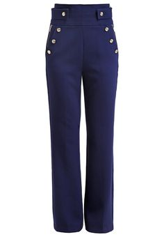 c0dcc93171532 Morgan PRILOR - Trousers - marine for Free delivery for orders over