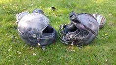 Post apoc helmets