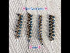 St. Petersburg Tekniği İle Tekli Kolay Bileklik Yapımı - YouTube Seed Bead Jewelry, Bead Jewellery, Beaded Jewelry, Handmade Jewelry, Beaded Necklace, Beaded Bracelets, Jewelry Making Tutorials, Beading Tutorials, Crochet I Cord