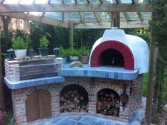 Waanzinnige Italiaanse pizzaoven en BBQ