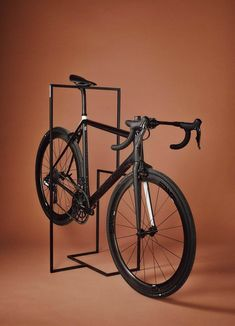b0bcbf5856 This Minimal Bike Stand Lets You Store Your Bike Indoors or Outdoors in  Style - Core77