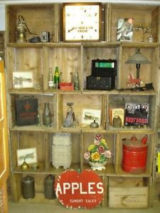 DIY Bookcase, Shelving, Wall unit or Room divider From Crates ...