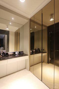 Naver Image Popup Foyer Design, Bed Design, House Design, Wardrobe Design Bedroom, Bedroom Wardrobe, Wardrobe Internal Design, Mirror Closet Doors, Sliding Door Design, Walk In Closet Design