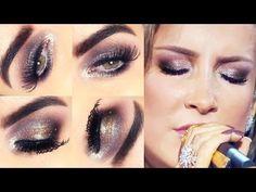Makeup / Maquiagem iluminada inspirada na Claudia Leitte - YouTube