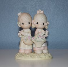 To My Forever Friend Precious Moments Figurine - Vintage - 1985 - Collectible. $37.00, via Etsy.
