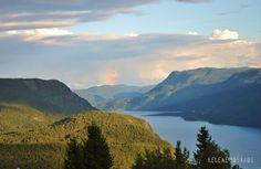 Lake Tinn - Telemark, Norway