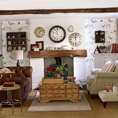 farmhouse decorating ideas | interesting-ideas-for-living-rooms-Country-farmhouse | Home Interior ...
