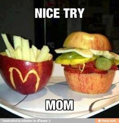 Check out: Funny Memes - Nice try mom. One of our funny daily memes selection. We add new funny memes everyday! Bookmark us today and enjoy some slapstick entertainment! Really Funny Memes, Stupid Funny Memes, Funny Relatable Memes, Haha Funny, Funny Stuff, Mom Funny, Funny Pranks, Funny Memes For Kids, Funny Food Memes
