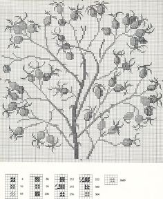 Gallery.ru / Фото #6 - Flowers and Berries in Cross Stitch - Mosca