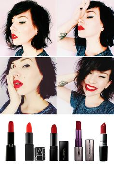 Keiko Lynn's favorite red lipsticks