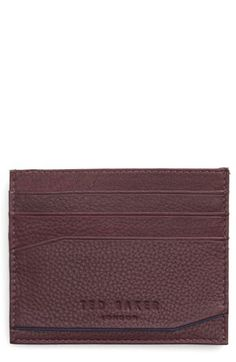 Ted Baker London Ted Baker London Binxx Leather Card Case available at #Nordstrom