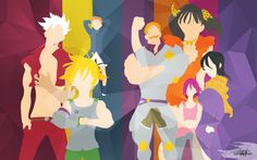 Nanatsu no Taizai: Once a Sin, always a Sin by Lennachan.deviantart.com on @DeviantArt