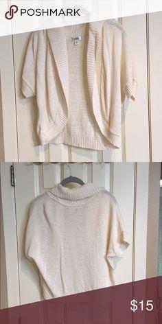 Dress Barn White Bolero Gently used, white bolero. No stains or holes. Dress Barn Sweaters Cardigans