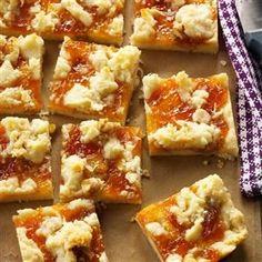 Winning Apricot Bars Recipe from Jill Moritz of Irvine, California