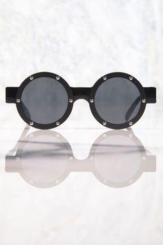 Le Specs Porthole Sunglasses