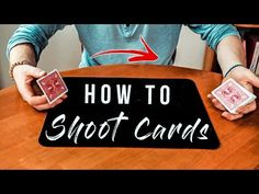 In this weeks tutorial I'll teach YOU how to SHOOT cards like David Blaine! Cool Card Tricks, Cool Magic Tricks, Magic Tricks Illusions, Cool Cards, The Magicians, New Books, Growing Up, Youtube, Playing Cards