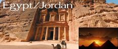 The only packages where we take you out of Egypt are the two which incorporate a visit to the famous site of Petra, in Jordan.
