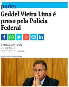 Esquerda Caviar: Conheça melhor o presidiário Geddel Suíno Vieira, ...