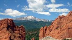 Things to do near Loveland, CO: Pikes Peak, as seen from Garden of the Gods