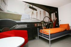 Hostel JBN - Hostel in Chur, Switzerland : The 'JBN' combines 45 beds, an Espresso bar and a sports bar to an uncomplicated 'Cheap and Chic'-house.