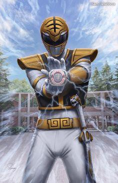 Power Rangers - White Ranger by SamDelaTorre