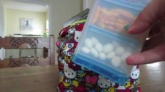 JuJuBe Hello Kitty Fuel cell packed with snacks Hello Kitty, Packing, Snacks, Mom, Life, Bag Packaging, Appetizers, Mothers, Treats